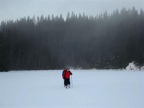 Skitur til Bjørndalhytta