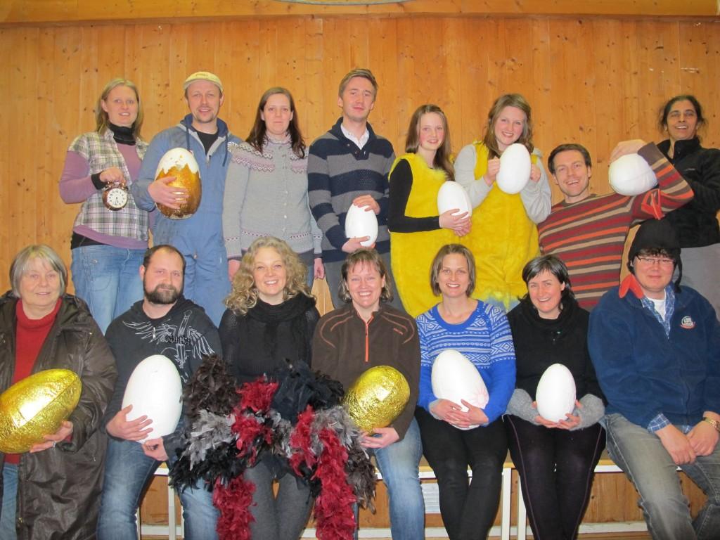 Påskeeggerøre 2012 - ensemble