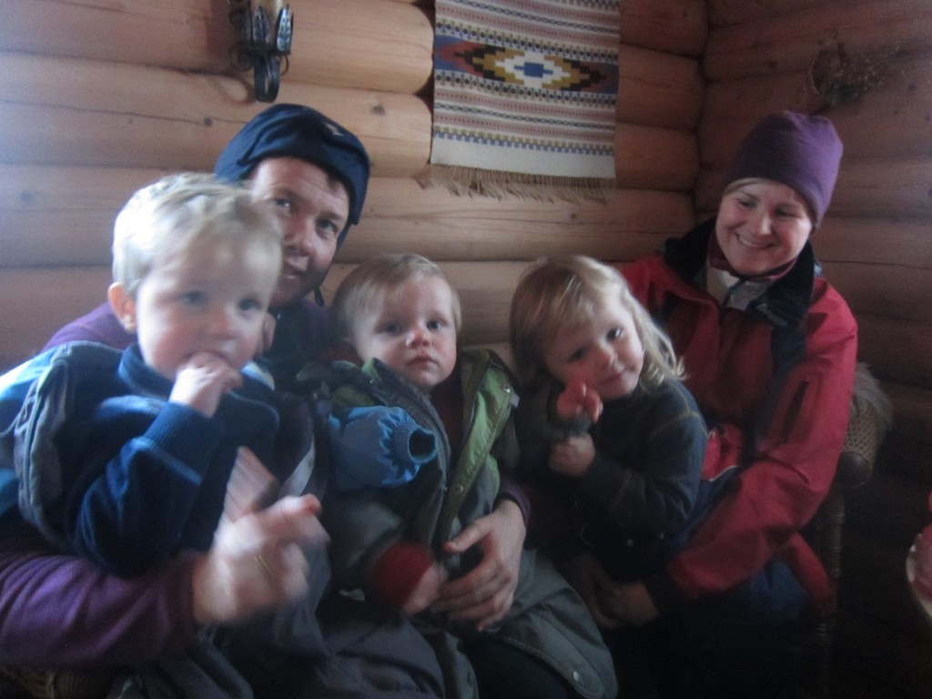 Skitur til Røiselihytta
