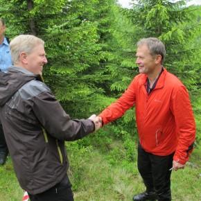 Feiring og Hurdal møtes ved Trøllkjerka