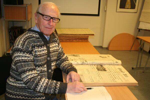 Kjell Arne Melby er eneste gjenlevende medlem av det siste herredstyret i Feiring.