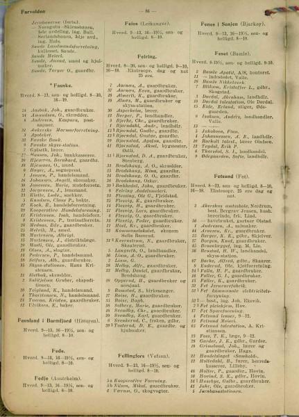 Tlf katalog 1917 Feiring
