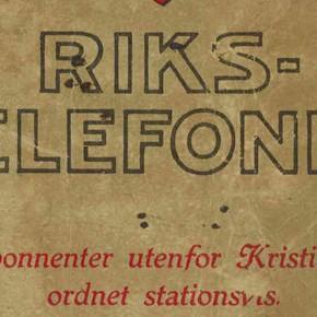 Telefoner i Feiring i 1917