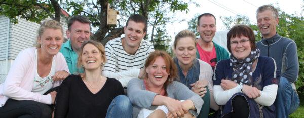 Sanggruppe uten navn: Bak f.v Norunn Elise Bamrud, Erik Hoel Skjønhaug, Ole Martin Hagen, Morten F. Haugli, Jan Kristen Brodshaug. Foran f.v: Anne-Brit Soma Reienes, Lisa Brodshaug, Guro Ekornholmen og Marte Myrvang Andersen.