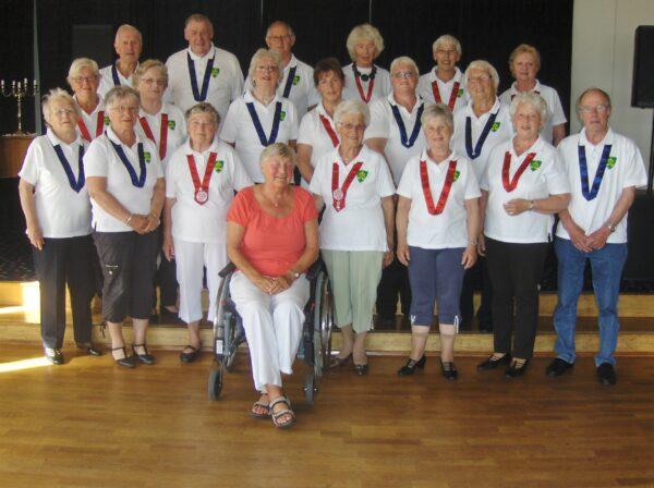 Seniordanserne står klare for en ny sesong og ønsker nye dansere velkommen.