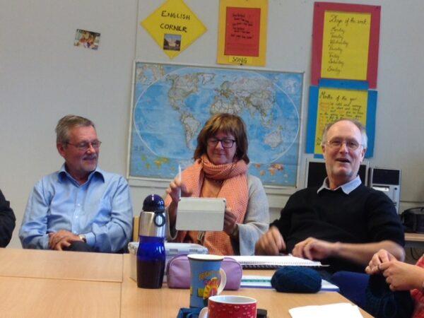KnutAlfred, Ellen og Jan