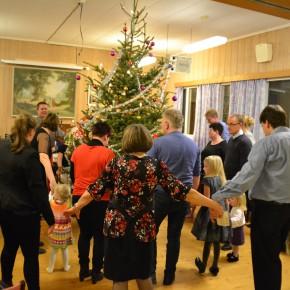 Juletrefest på Bedehuset