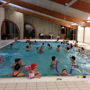 Svømminga starter 12. september