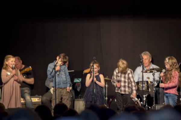B6 Gustav, Sivert, Karsten, Tina, Tomine og Karen Johanne