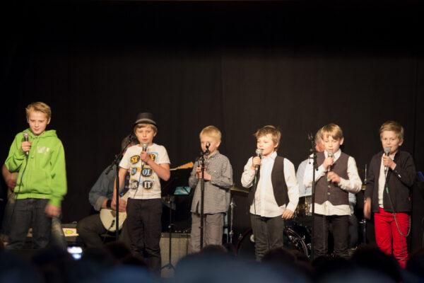 B8 David, Mads, Birk, Jørgen L, Even og Martin