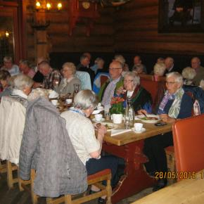 Pensjonist-julebord på Fløygir