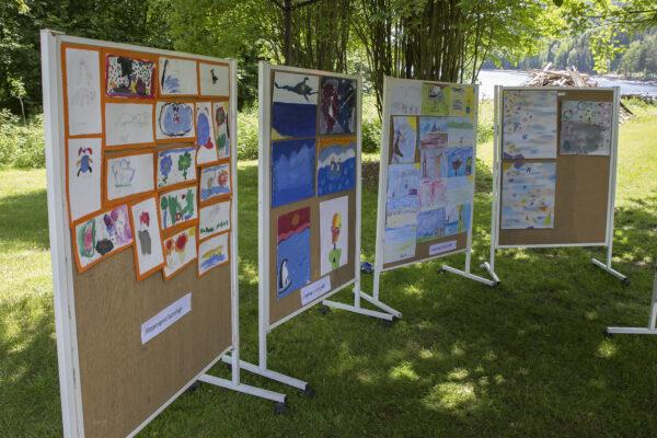 Mange fine bidrag til Ung kunst