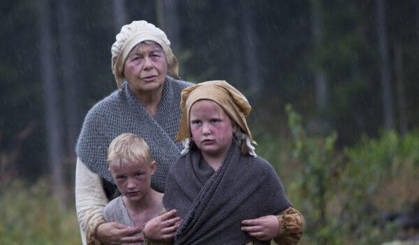 8 - Bladtjennsfamilien i regnvær