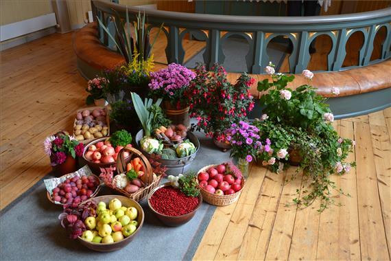Høsttakkefest i kjerka