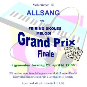 Allsang og Melodi Grand Prix