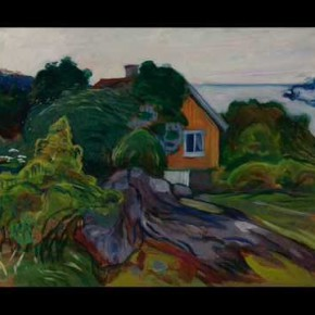 Tur til Munchs hjem i Åsgårdsstrand