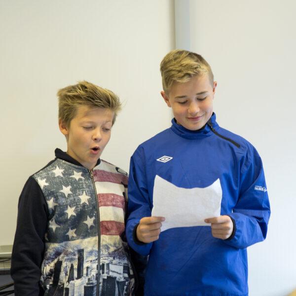 Mads og Hermann taler