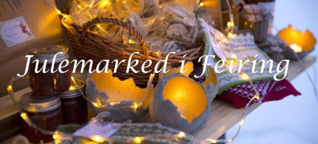 Variert meny på julemarked i Feiring