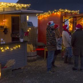 Julemarkedet på Fløygir er i full gang