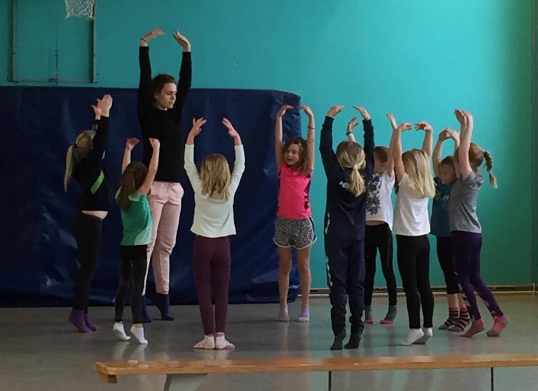 Dansekurs med Rebekka