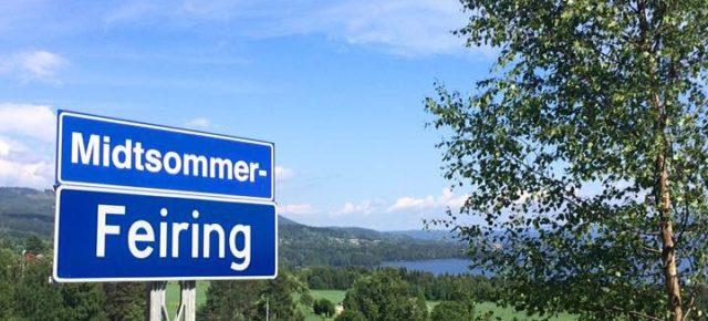 Midtsommer-Feiring i Årneslandet