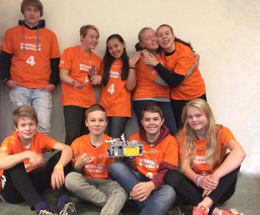 Feiring skole stiller for tredje gang i Lego League
