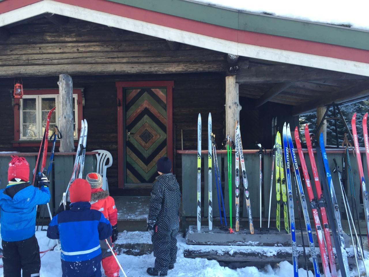 Skitur til Tørtopp
