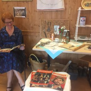Vellykket museumsdag på Fløygir