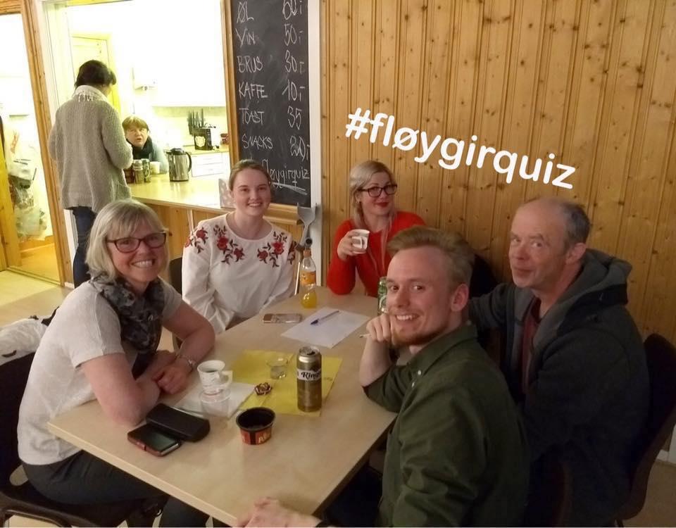 Musikk-quiz på Fløygir