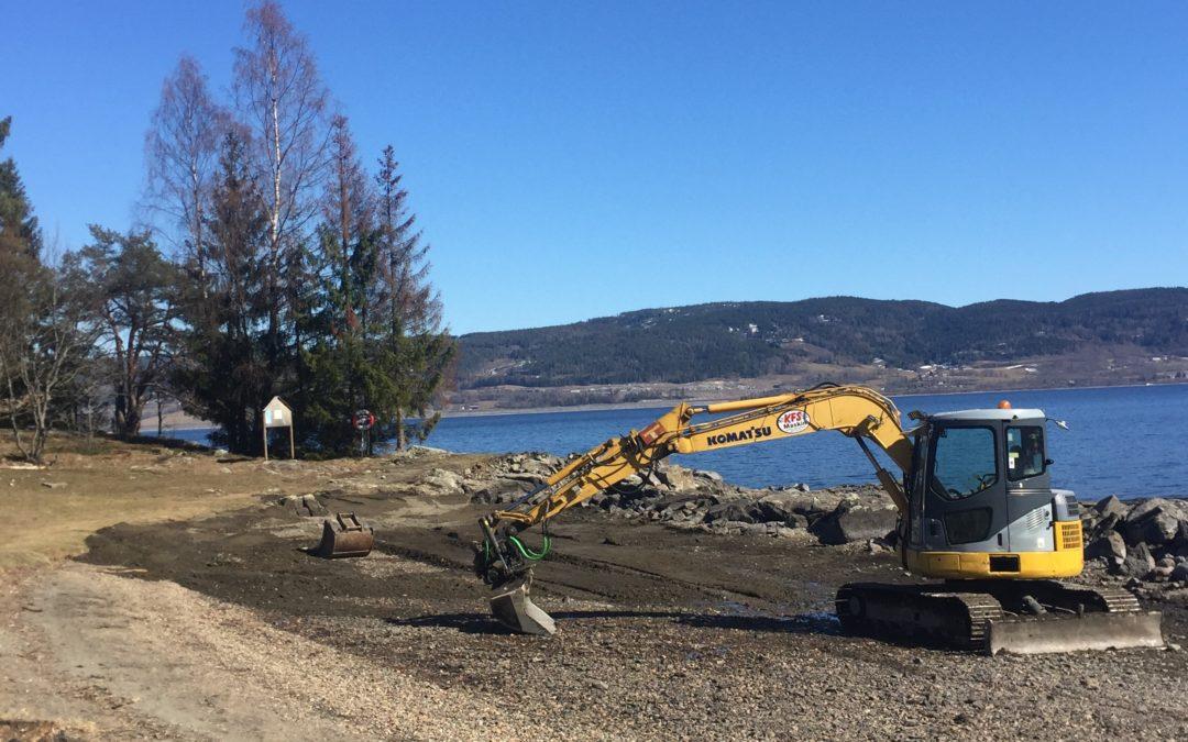 Oppgradering av Årneslandet