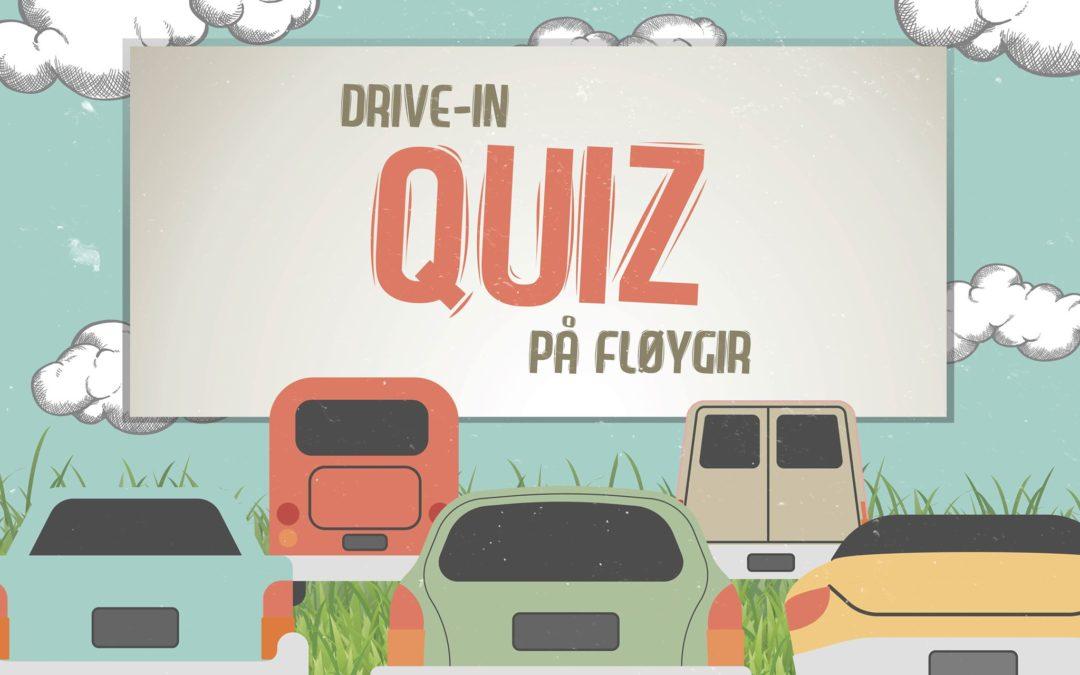 Familievennlig drive-in-quiz på Fløygirplassen