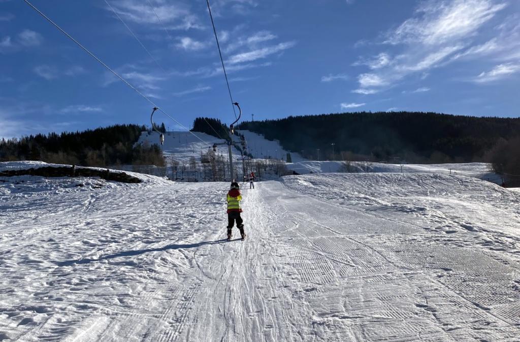 Tur til Hurdal skisenter